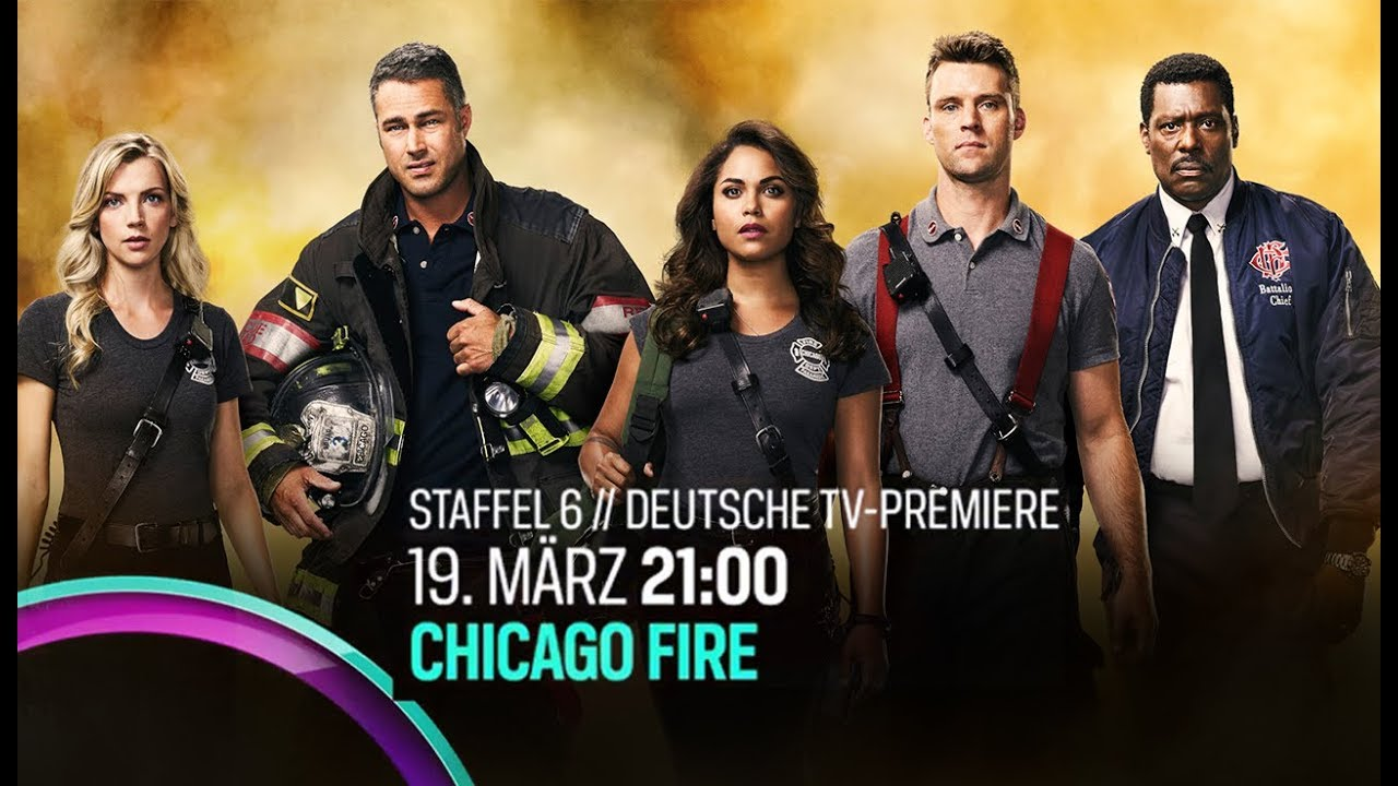Chicago Fire Staffel 6 Dvd
