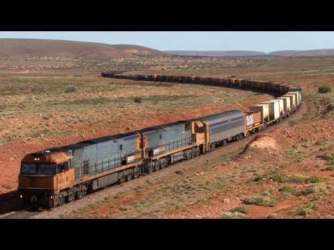 Railways of South Australia - Peterborough, Pt Augusta and Trans Australia line