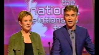 New Tricks trailer, BBC News Iraq war trailer and Test The Nation Relationship Test 22nd March 2003