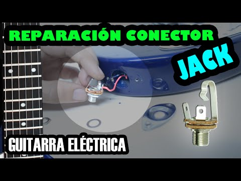 Guitarra eléctrica | Reparación del conector Jack