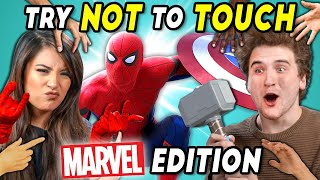 Try Not To Touch Challenge Marvel Edition (ft. a Pig)