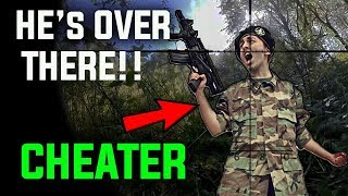 Airsoft Cheaters Caught by Invisible Ghillie Sniper