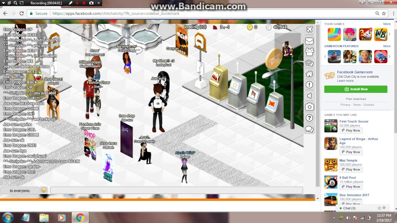 chit chat city girl avatar Watch chit chat city how to make a simple girl avi part 1 by jeremylance videogames on dailymotion here.