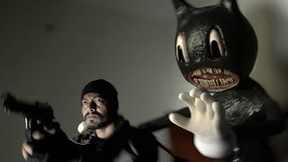 Cartoon Cat Horror Short Film