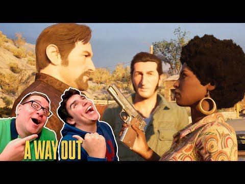 A WAY OUT #10 | RIC & DAIZER | ASSALTO E ARSENAL DE ARMAS