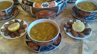 أحسن حريرة مغربية بالطريقة الاصلية رمضان 2016      | Harira (soupe) Marocaine