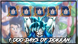 1000 DAYS OF DOKKAN | THIS IS MY STORY | 5 COPIES OF A FREE LR! |  DRAGON BALL Z DOKKAN BATTLE