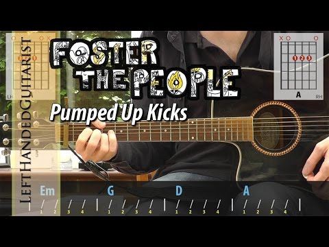 Foster The People  Pumped Up Kicks  simple guitar lesson