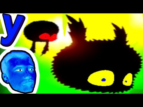 ЖУТКАЯ ПТИЦА! Темная птичка - ЧЕРНЫЙ ШАР бродит по МИРУ ТЕНЕЙ и ЛОВУШЕК #231 Мультик ИГРА для детей