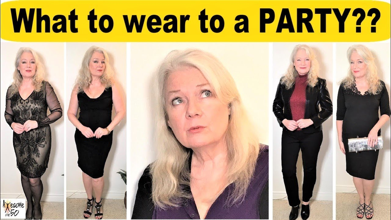 fa3e6904e1da What to wear to a PARTY, 5 of my TOP TIPS for Dresses, Outfits, Shoes, Xmas  Parties, Women over 50