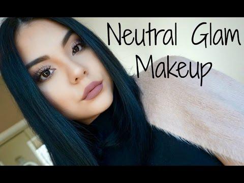 My Neutral Glam Makeup Look | Cutesygirl09