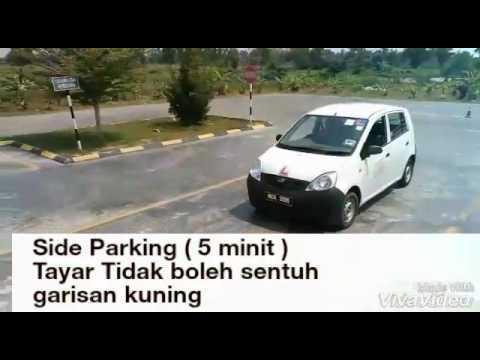 Ujian Memandu JPJ Parking Sisi