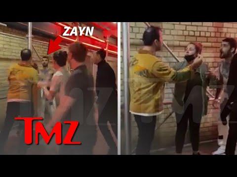 Zayn Malik Goes Shirtless in Near-Brawl Outside NYC Bar | TMZ
