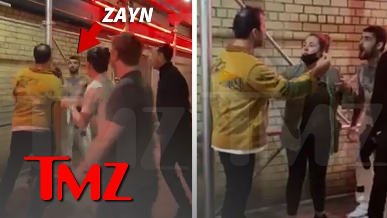 Zayn Malik Got In A Heated Confrontation Outside A Bar And Was ...
