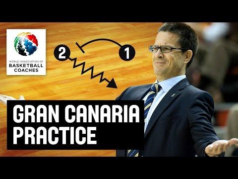 Gran Canaria Practice - Pedro Martinez - Basketball Fundamentals
