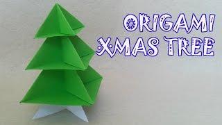 Origami Christmas Tree - Origami Easy