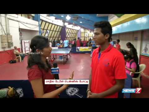 State level Table Tennis Championship in Chennai | Tamil Nadu | News7 Tamil