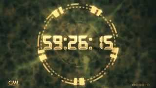 One Hour / 60 Minutes Deluxe Countdown with Sound 1080p