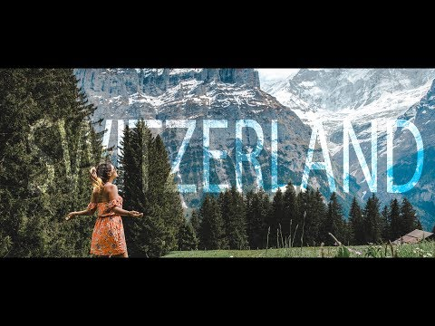 SWITZERLAND ROADTRIP TRAVEL - mountains, paragliding, hiking and delicious food!