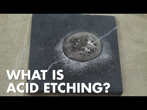 Porous Materials - Common Problems: Acid Etching
