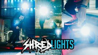 SHRED LIGHTS // SL-1000 + SL-200 // Onewheel XR + Evolve GTR // SHRED THE NIGHT WITH SHRED LIGHTS