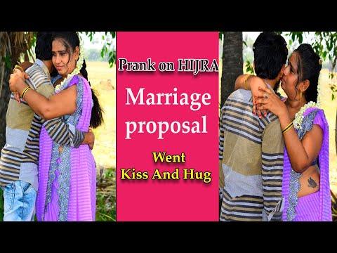 Marriage Proposal Prank On Hijra    ELURU ROJA    Temper Boys #RajTharun