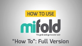 "mifold ""How To"" video: Full Version"