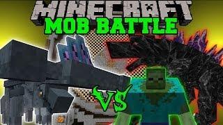 HAMMERHEAD VS MUTANT ZOMBIE, BUGS, & MOBZILLA - Minecraft Mob Battles - Mods