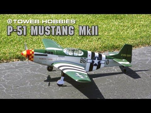 """Tower Mustang Mk.II """"Berlin Express"""" : Tower Hobbies"""