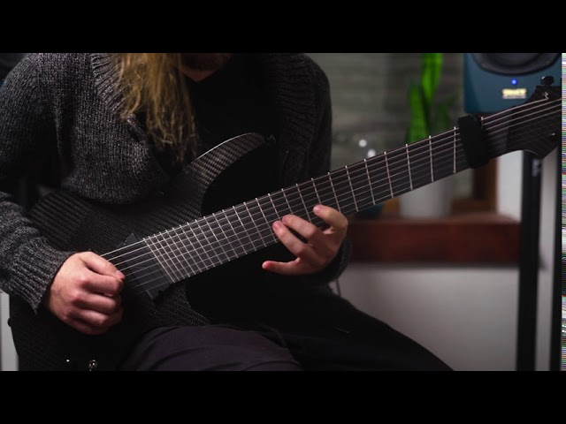 Synergy Instruments - Full Carbon 8 String Electric Guitar - Bach Concerto A Minor -Kristian Fourier