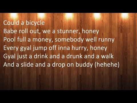 Vybz Kartel   Oh Yeah Run Up September 2017 LYRICS