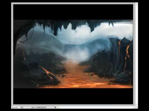Lava Monster Concept Art