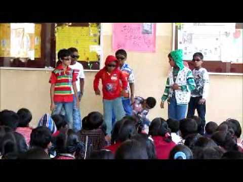 Childrens day school function  Kabeer Baig