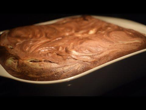 Шоколадно-творожный пирог | Брауни с творогом