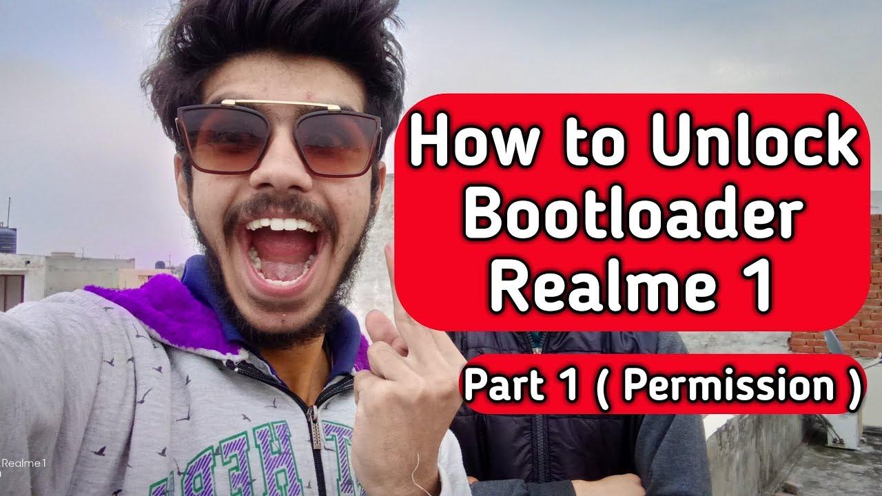 How To Unlock Bootloader of Realme 1 | Realme 1 Bootloader Unlock Part 1