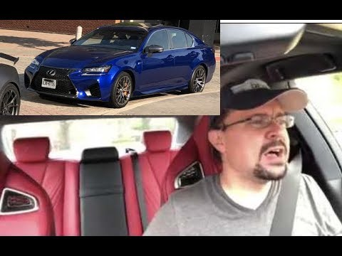 Lexus GS-F review, tour of a rare new n/a V8 RWD. Better than my BMW M5?