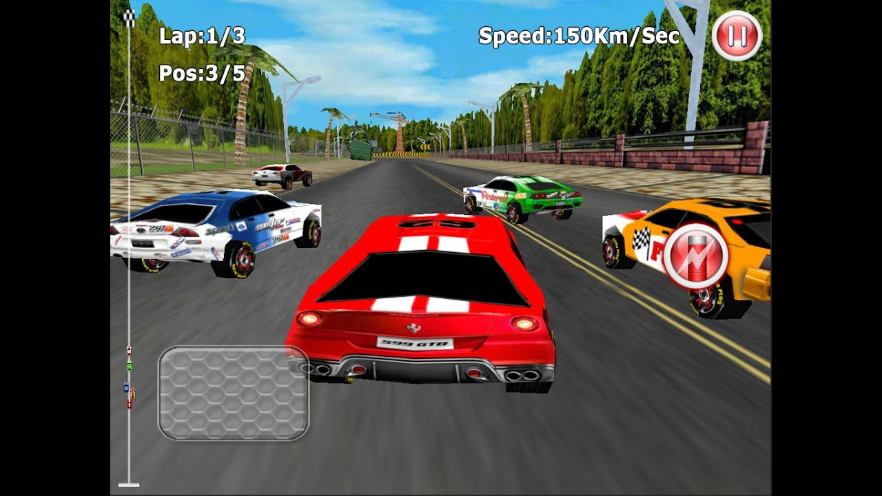 Car Course Games