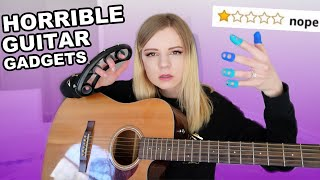 Testing Awful Guitar Products That Shouldn't Exist!