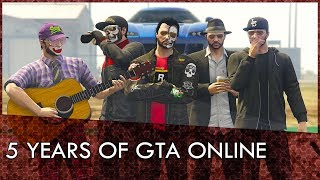 5 Years of GTA Online [Rockstar Editor]