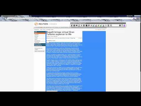 How to use Read Write Google (Text to Speech) on a Webpage