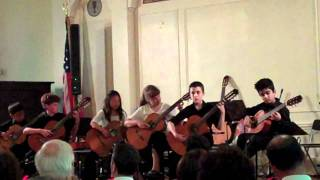 Amherst School of Guitar Spring Recital Williamsville Meeting House.mp4