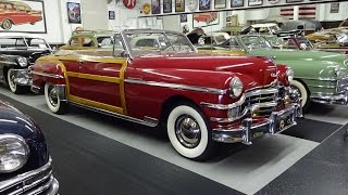 1949 Chrysler Town & Country Woodie Convertible @ The Klairmont on My Car Story with Lou Costabile
