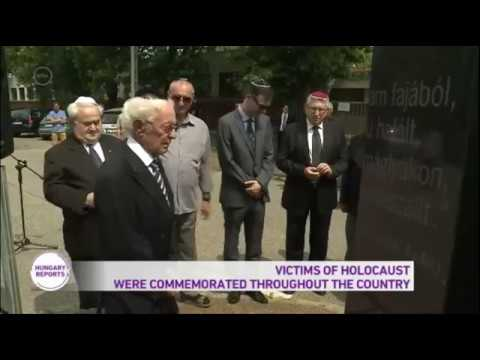 Victims Of Germany's Holocaust in Hungary Commemorated