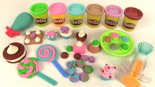 Play Doh Pâte à Modeler Bonbons Sucreries Gâteaux Sweet Shoppe Colorful Candy Box