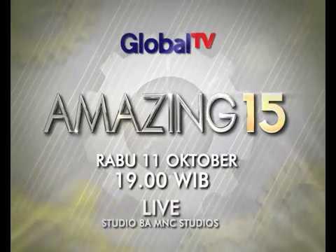 RAISA Ft GOD BLESS! AMAZING15 GLOBALTV