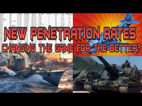 New Penetration Rates, Changing the Game for the Better? - War Thunder Weekly News
