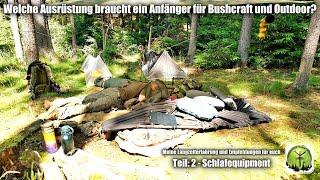 Welche Grundausstattung braucht ein Anfänger für Bushcraft, Survival und Outdoor?  Teil:2