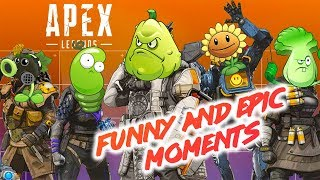 Apex Legends  FUNNY AND EPIC MOMENTS  БАГИ ПРИКОЛЫ ФЕЙЛЫ