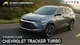 Chevroler Tracker Turbo 2021: 5 puntos clave