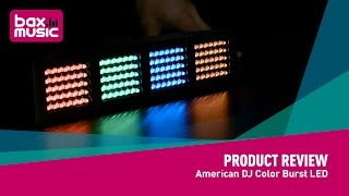 Video American DJ Color Burst LED - Review download MP3, 3GP, MP4, WEBM, AVI, FLV Juni 2018